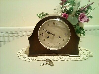 Lovely Condition Enfield Mantel Clock In G.w.o.