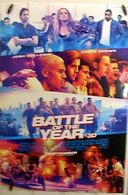 "Battle of the Year - 27""x40"" 2 sided ORIGINAL Movie Poster - Josh Holloway"