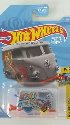 Hot Wheels 2018 Volkswagen Kool Kombi NEW VHTF Free Shipping !