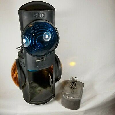 HLP CNR Piper Montreal Railroad Caboose Marker Signal Lantern Lamp Switchman
