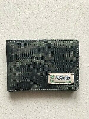 NWT Hollister By Abercrombie & Fitch Men's  Wallet