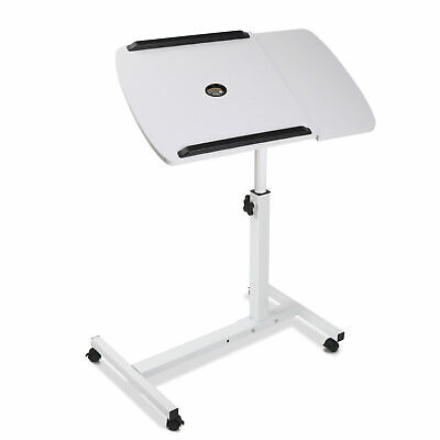 Mobile Laptop Desk Adjustable Notebook Computer iPad PC Stand Table Tray @TOP