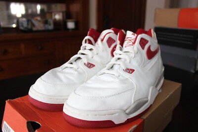 factory price a5860 daeb3 Nike Air Flight 89, Size 12 with Box, WhiteVarsity Red