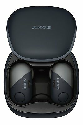 Sony WFSP700N/B Sport True Wireless Noise Canceling Earbud Headphones - Black