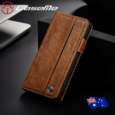 Vintage Retro PU Leather Case Cover Flip Card Wallet For iPhone X 8 6S Plus 5 SE