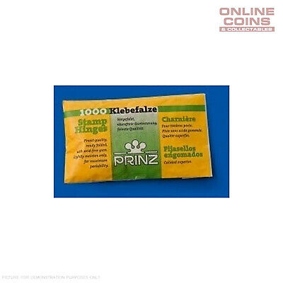 Prinz Folded Stamp Hinges Packet of 1000