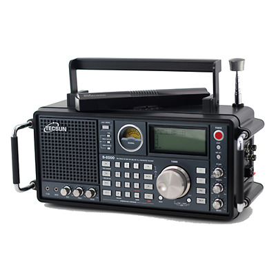 Tecsun S2000 AM, FM, Shortwave HF, Longwave and VHF Air Band in a Desktop Radio