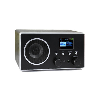 Apogee DAB+ Digital FM Radio with external antenna and AUX input