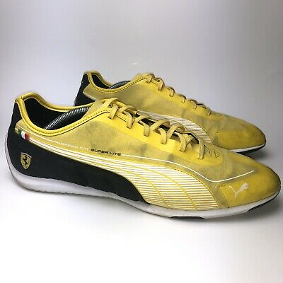 928783a2378 Puma Racing Speed Cat Super Lite Low SF Ferrari Men s Size 11.5 Yellow Italy