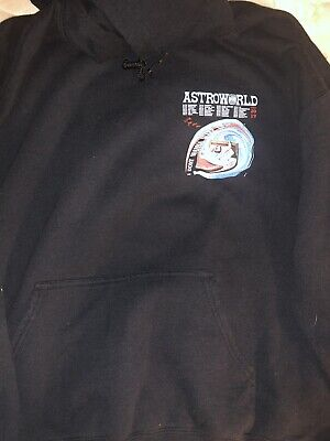 7a023ee98040 Travis Scott Astroworld Tour (Leg 2) Merch Hoodie Sweatshirt Authentic  Medium
