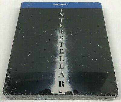 Interstellar - Limited Edition Blu-ray Steelbook - NEW /SEALED  All Region: A/BC