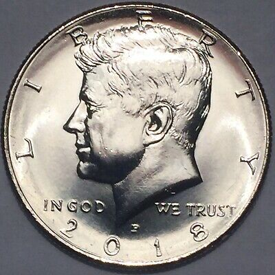2018 P or D Uncirculated Kennedy Half Dollars for Sale**(1) coin per purchase**
