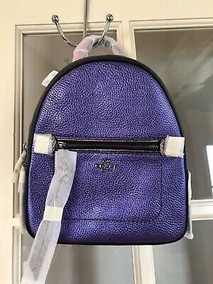 383595f88c6a50 Coach Metallic Andi Backpack In Color block F49122 BNWT, Wrapped, Beautiful!