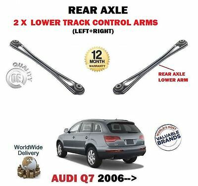 For Audi Q7 4L 2006-> 2 X Rear Axle Lower Track Control Arms Set 7L0501529 A C