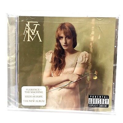 Florence + The Machine High As Hope Explicit CD Brand New