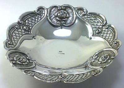Vintage Sterling Silver Bonbon/Change/Trinket Dish – Greek / Cypriot c1950 (77g)