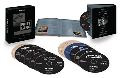 Fritz Lang The Silent Films Blu Ray Set Kino Classics 12 Disc Collection NEW