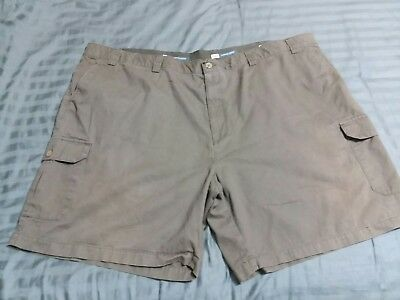 cfe716814a Harbor Bay Continuous Comfort Waistband Men's Olive Cargo Shorts Size 54 R