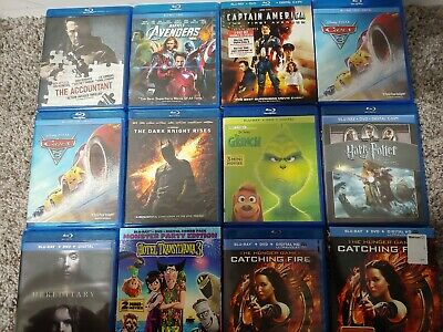 Blurays Big Movie Titles!! Check Them Out!!! New Releases And More!