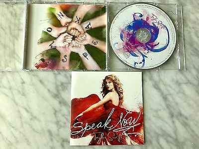 Taylor Swift Speak Now CD/DVD Target Exclusive Deluxe Edition RARE Out Of Print!