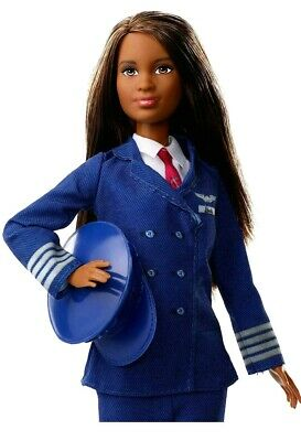Mattel Barbie Career Pilot Doll Special Edition 60th Anniversary