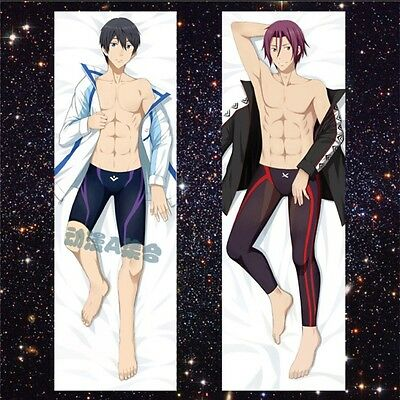 Animation Art Characters Other Anime Collectibles Rin Matsuoka Haruka Nanase Anime Dakimakura Pillow Case Yc0149 Free Collectibles Animation Art Characters I do not own the characters or music in this video music: animation art characters other anime