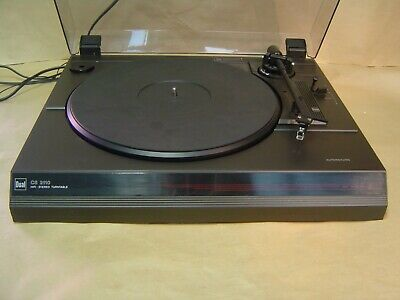 Dual CS 2110 Turntable. Made in Germany