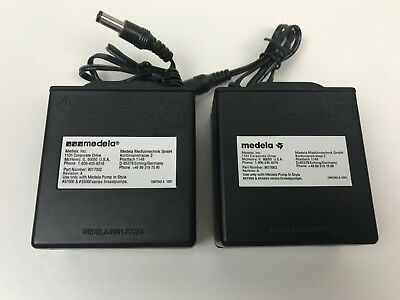Lot of 2 MEDELA 9017002 Battery Pack Unit Power Supply Breast Pump In Style