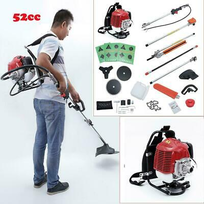 Grass Trimmer New High Quality Petrol Brush Cutter Grass Cutter 5 In1 With 52cc Petrol Engine Multi Brush Strimmer Hedge Trimmer Tree Cutter Garden Power Tools