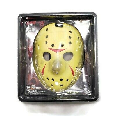 JASON VOORHEES Friday the 13th Part 3 Lifesize Prop Replica Resin Mask NECA 2013