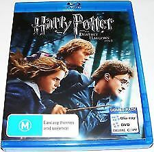 Harry Potter And The Deathly Hallows Part 1 Blu Ray - Daniel Radcliffe Free Post