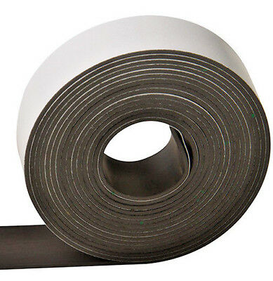 3m x 25mm roll of flexible self adhesive magnetic tape