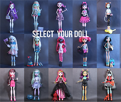 Monster High Dolls Bundle Wide Selection Great Condition BEST PRICES - Select 1