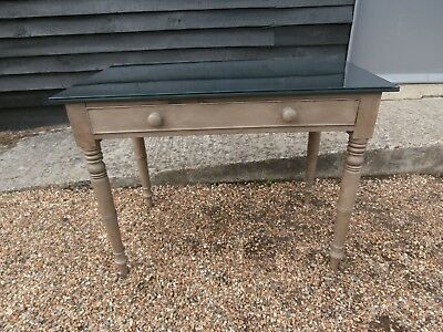 LOVELY 19th CENTURY PINE PAINTED SIDE TABLE DESK BUREAU STAND - WE CAN DELIVER