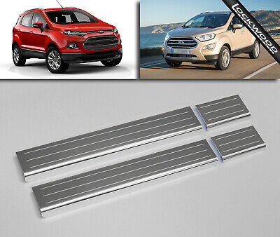 Ford EcoSport (Released 2013) Stainless Sill Protectors / Kick Plates