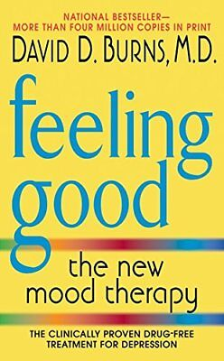 Feeling Good: The New Mood Therapy New Paperback Book David D. Burns paperback