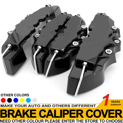 4Pcs YE 3D Brake Caliper Covers Style Disc Universal Car Front Rear Kits CY01