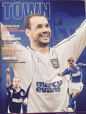 Ipswich Town v Bristol City, 28 August 2010 - Official Programme