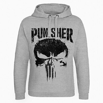 Licence Officielle Marvel's The Punisher Grand Crâne Epic Capuche S-XXL Tailles