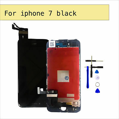 """For 4.7"""" iPhone 7 LCD Screen Digitizer Black Touch Display Assembly Replacement"""