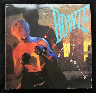 "DAVID BOWIE - Lets Dance ~ 1983 VINYL LP 12"" EMI America AML 3089 Original"