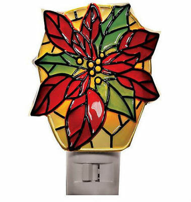 *HOLIDAY *1979 SUNSET STAINED GLASS SANTA LG KIT