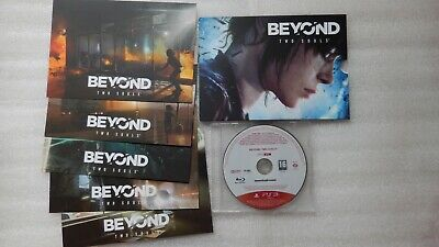 Beyond Two Souls PS3 PROMO Game + Beyond Two Souls Art Cards Sony PlayStation 3.