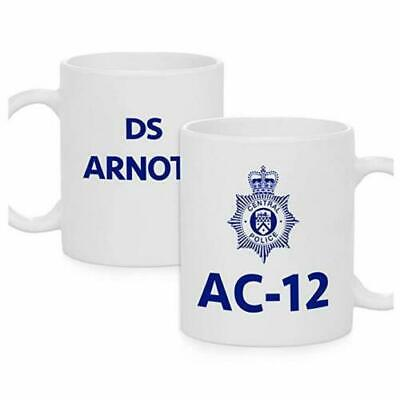 Line of Duty AC-12 1 2 3 AC12 Novelty Police GIFT MUG Father's day PERSONALISED