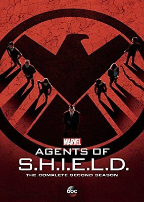 Agents of S.H.I.E.L.D.: The Complete Second Season (DVD, 2015 5-Disc Set) SHIELD