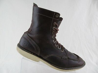 TIMBERLAND EARTHKEEPERS CITY Escape Men s Dark Brown Leather Moc Toe ... c116a779ca7
