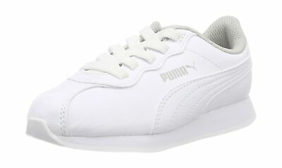 Puma Unisex Kids Turin Ii Ac Ps Low-Top Sneakers Puma White-puma White 6aef673de