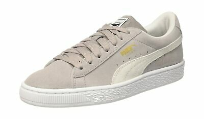 best website bfe8f 895d1 Puma Unisex Kids  Suede Classic Jr Trainers Ash-puma White 3.5 UK .