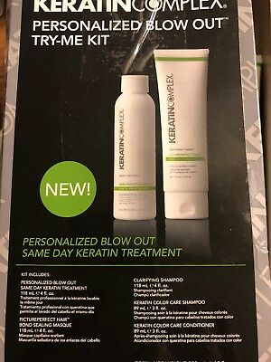 Keratin Complex Personalized Blow Out Try Me Kit