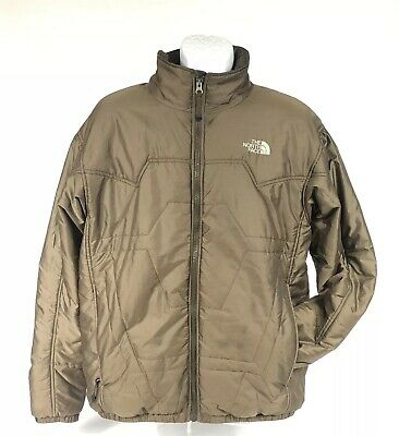 6260c9a38 THE NORTH FACE Brown Prodigy Lightweight Quilted Jacket, Men's Size Large  EUC